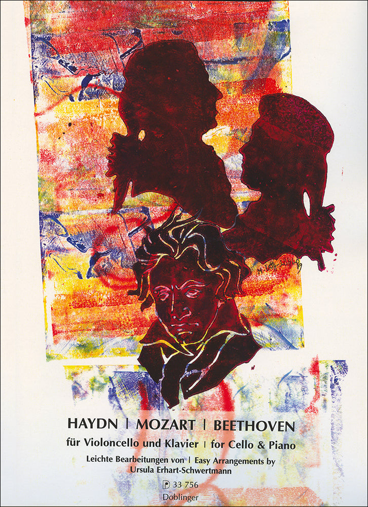 Haydn - Mozart - Beethoven: Easy Arrangements for Cello & Piano