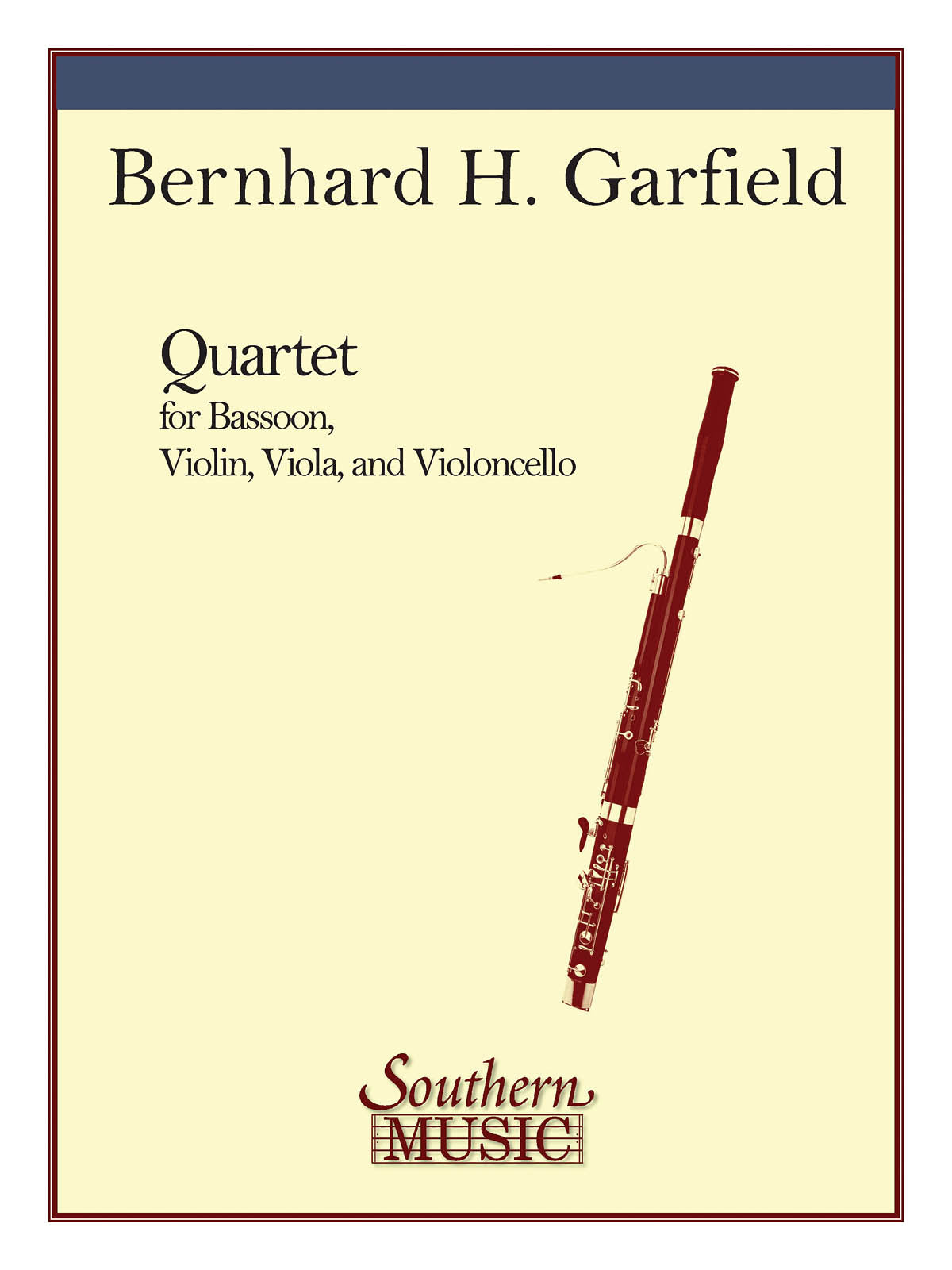 Garfield: Quartet for String Trio with Bassoon
