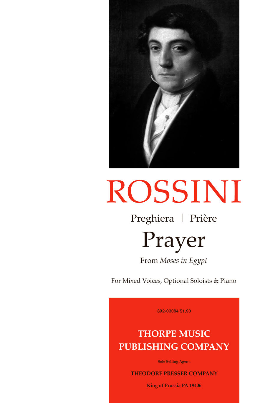 Rossini: Prayer (From Moses in Egypt)