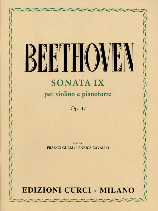 "Beethoven: Violin Sonata in A Major, Op. 47 (""Kreutzer Sonata"")"