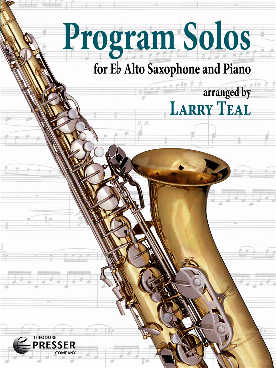 Program Solos for Alto Saxophone & Piano