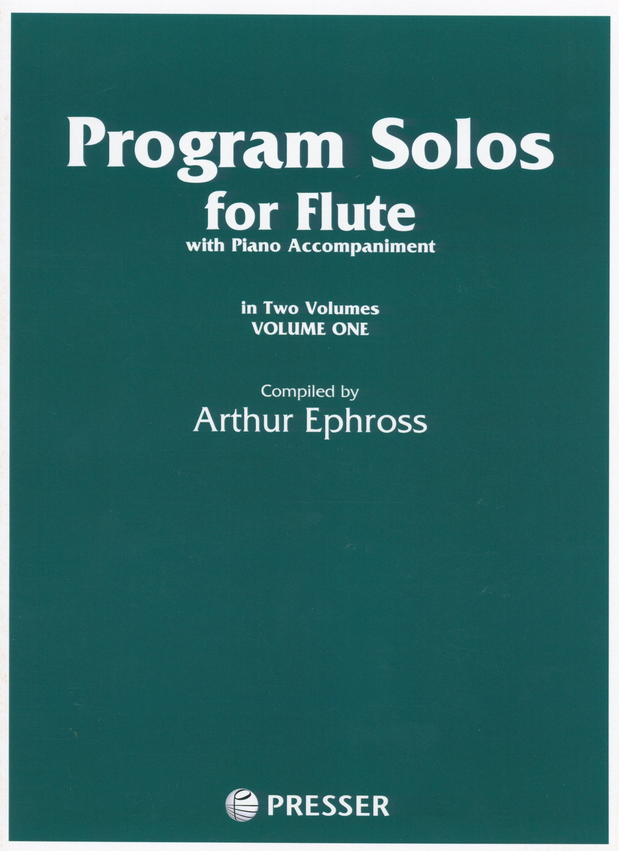Program Solos for Flute - Volume 1