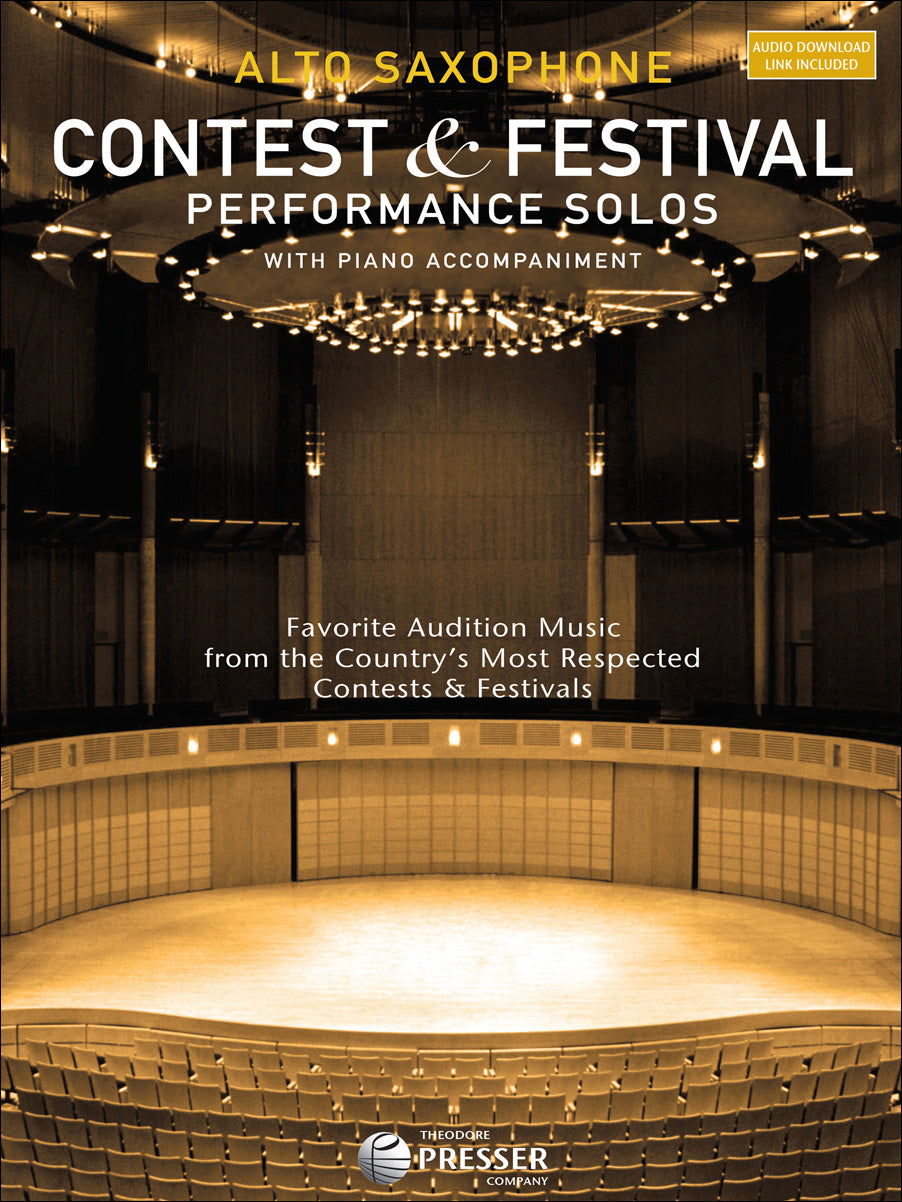 Contest & Festival Performance Solos for Alto Saxophone