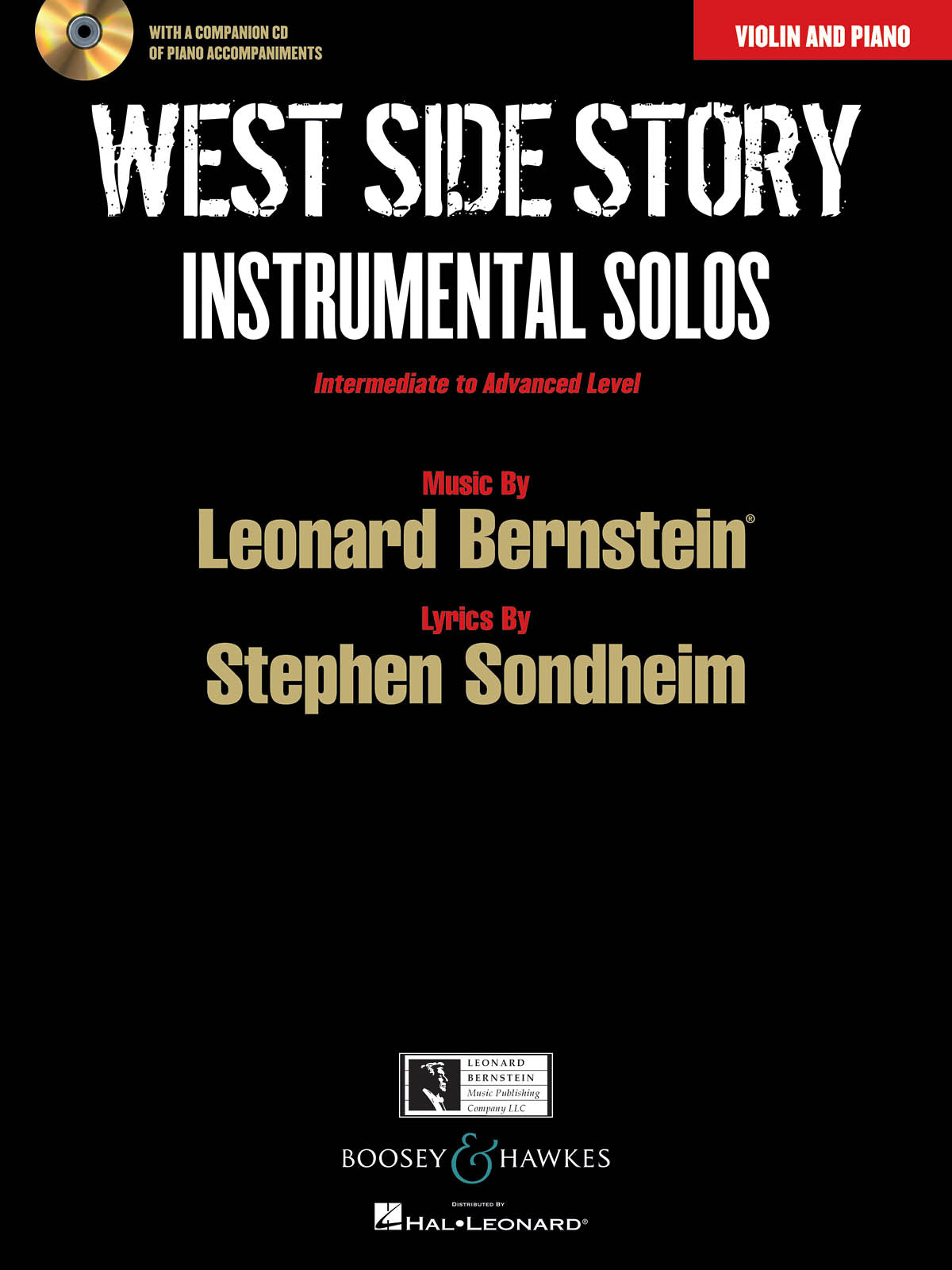 Bernstein: West Side Story Instrumental Solos: Violin