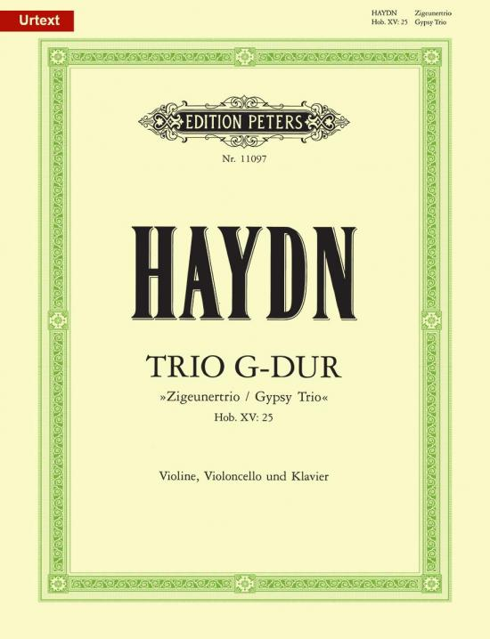 Haydn: Piano Trio in G Major, Hob. XV: 25