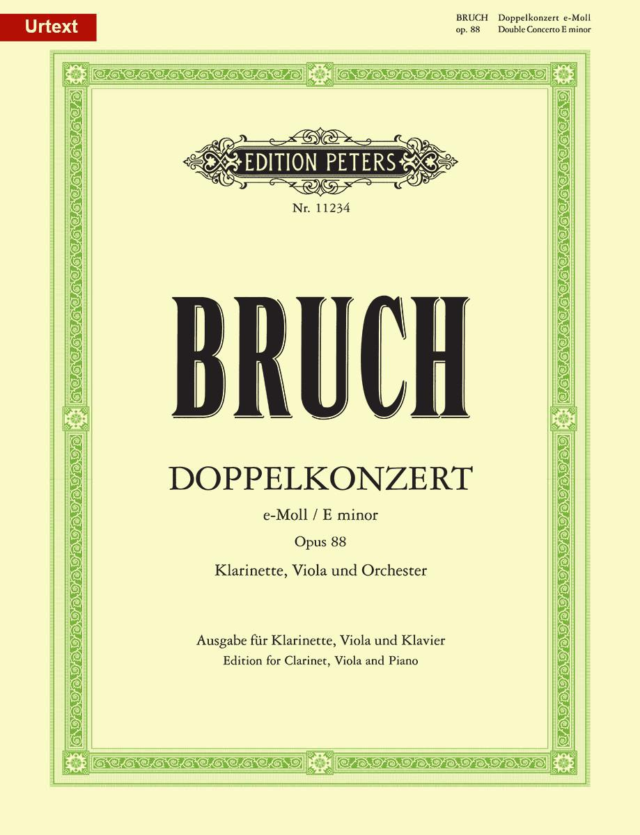 Bruch: Double Concerto for Clarinet and Viola, Op. 88