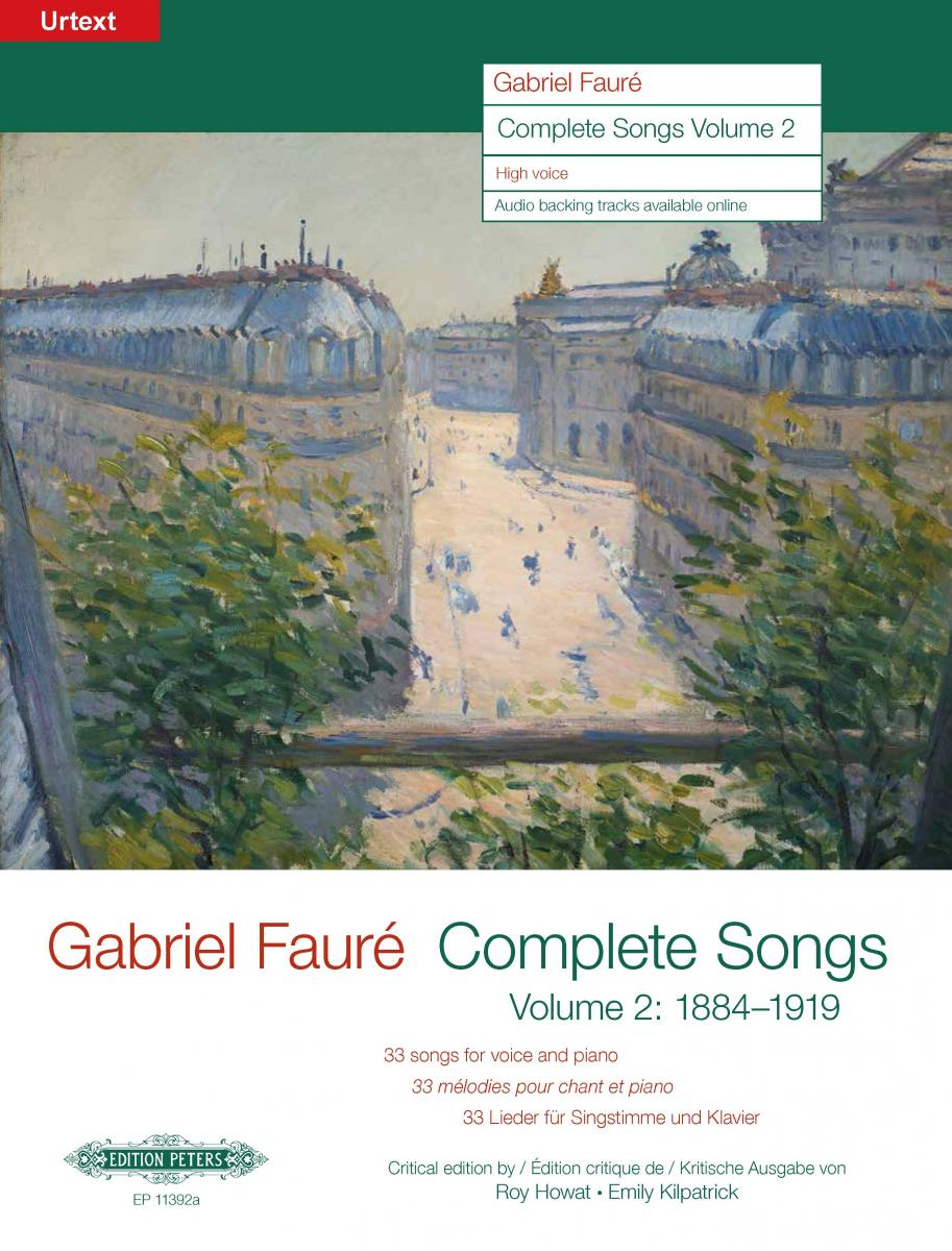 Fauré: Complete Songs - Volume 2