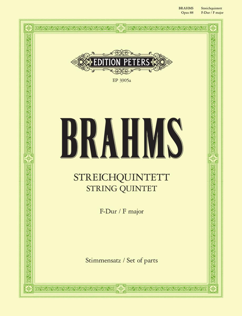 Brahms: String Quintet in F Major, Op. 88