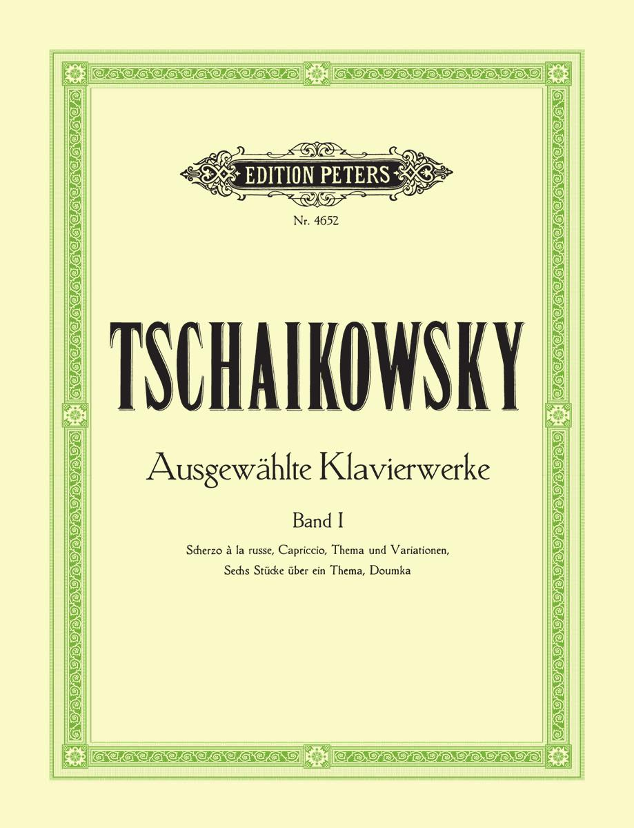 Tchaikovsky: Selected Piano Works - Volume 1