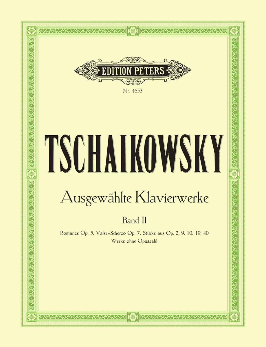 Tchaikovsky: Selected Piano Works - Volume 2