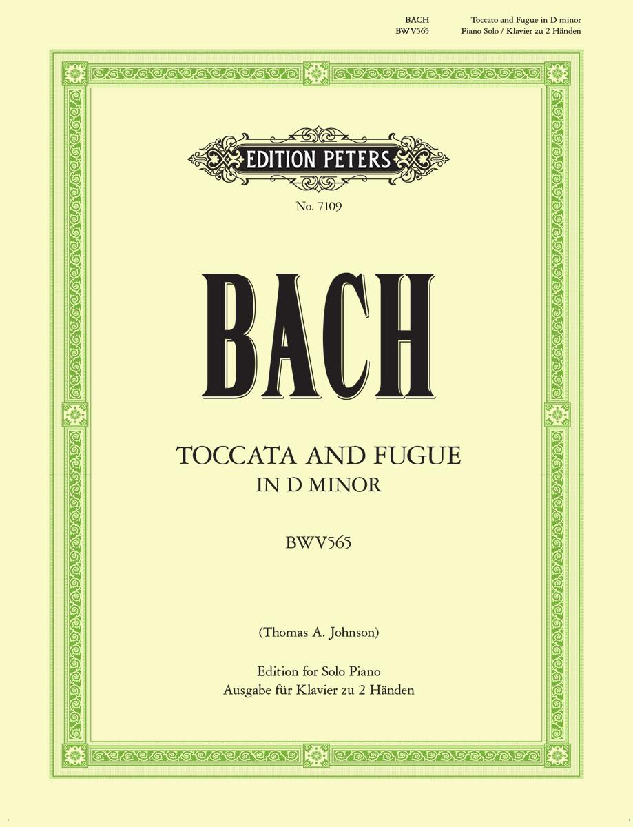 Bach: Toccata & Fugue in D Minor, BWV 565 (arr. for piano)