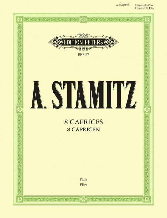 A. Stamitz: 8 Caprices for Flute