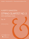 Ginastera: String Quartet No. 3, Op. 40 (with soprano)