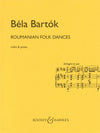 Bartók: Romanian Folk Dances (arr. for violin)