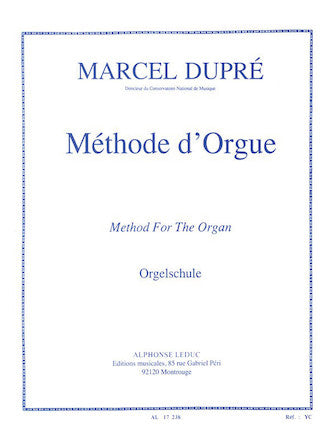 Dupré: Method for the Organ
