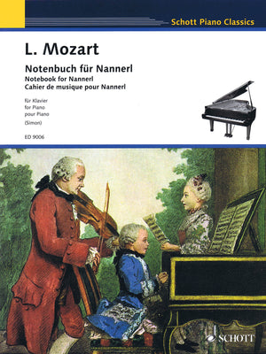 L. Mozart: Notebook for Nannerl