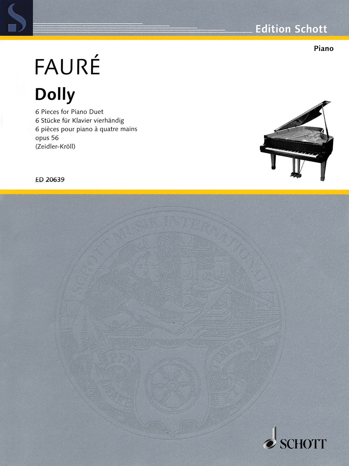 Fauré: Dolly, Op. 56 (piano, 4-hands)