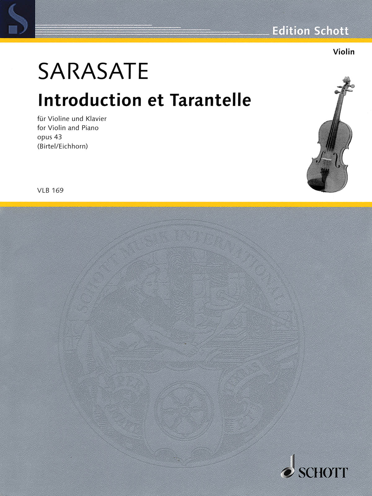 Sarasate: Introduction and Tarantelle, Op. 43