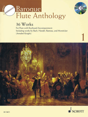 Baroque Flute Anthology - Volume 1