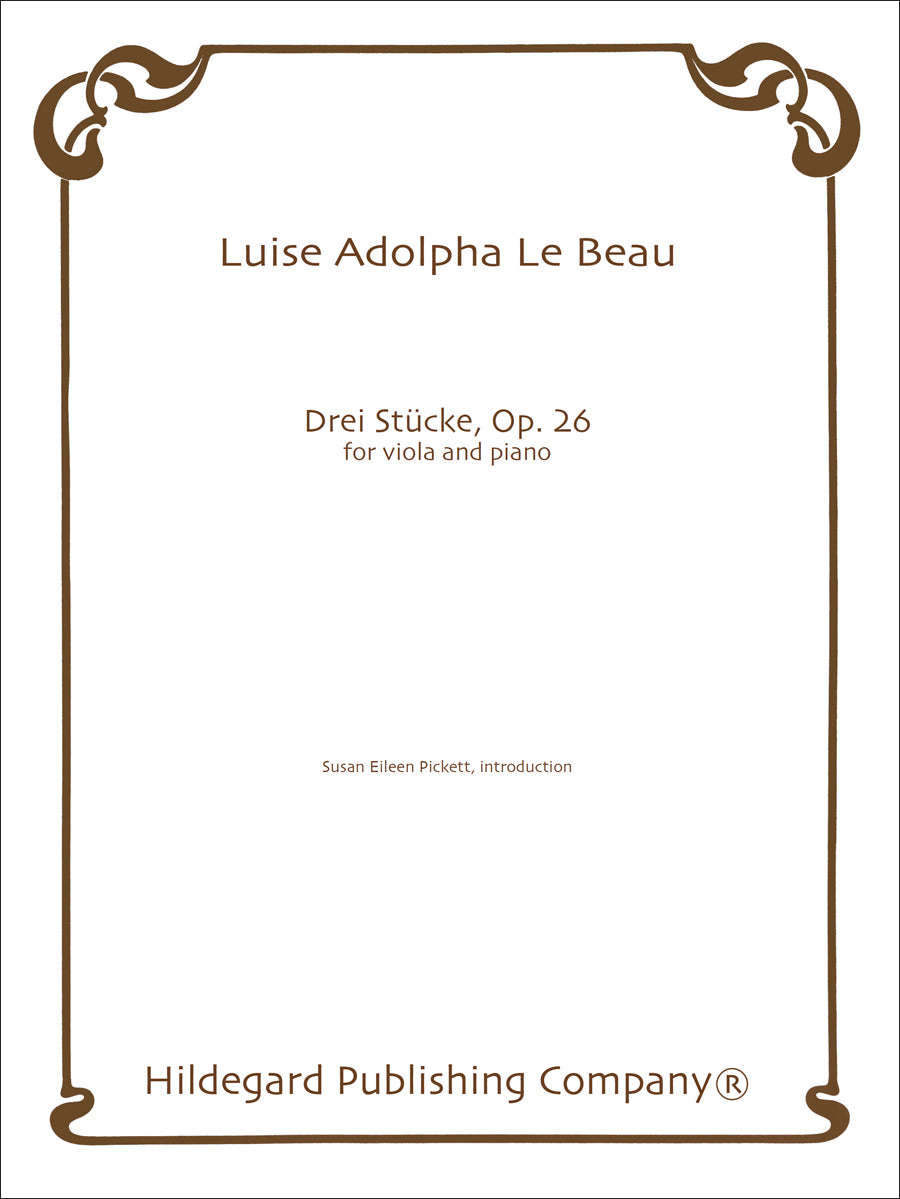 Beau: 3 Pieces, Op. 26