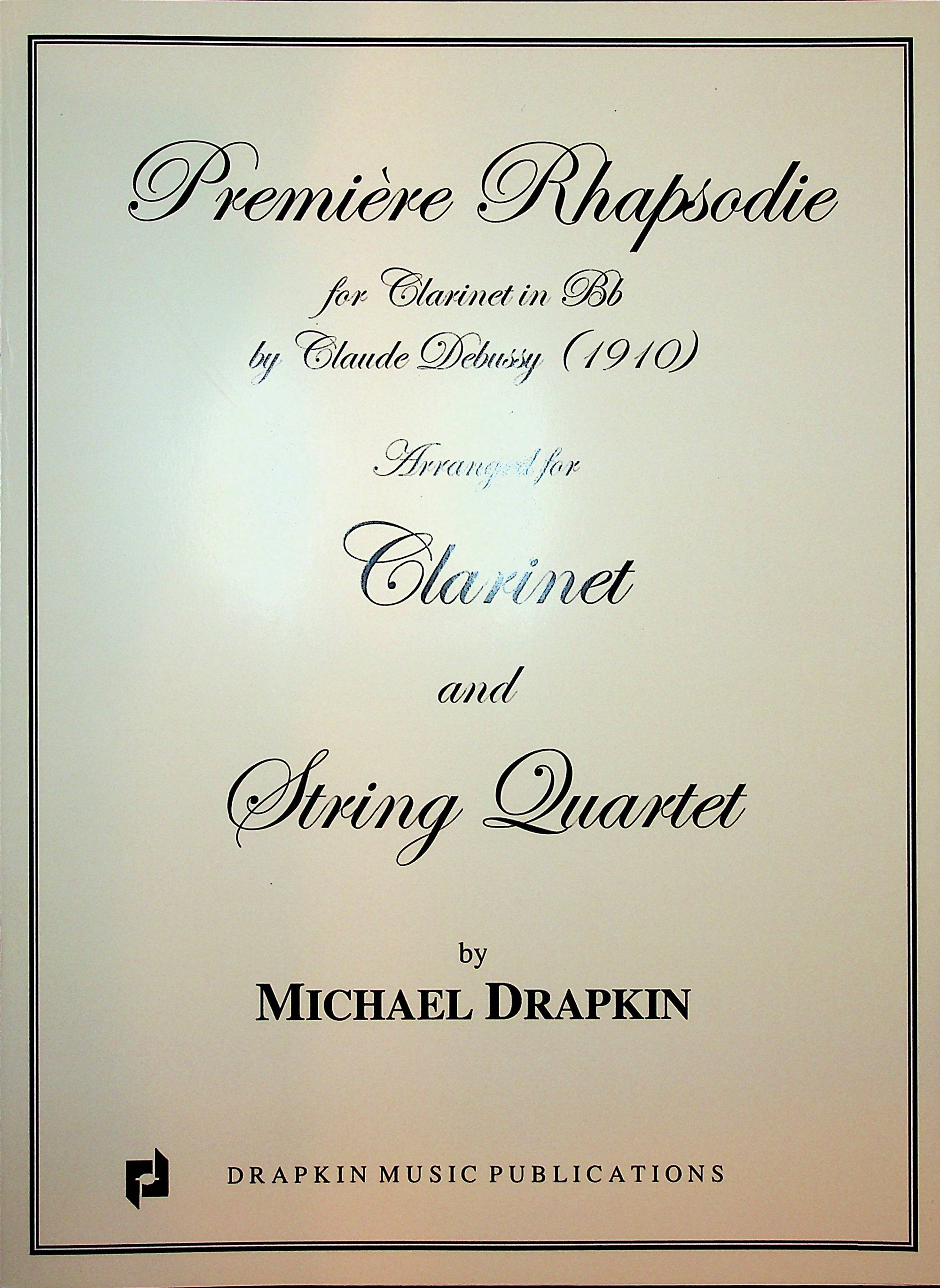 Weber: Clarinet Concerto No. 1 in F Minor, Op. 73 (arr. for clarinet & string quartet)