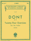Dont: 24 Exercises, Op. 37