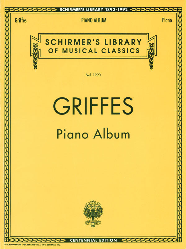 Griffes: Piano Album