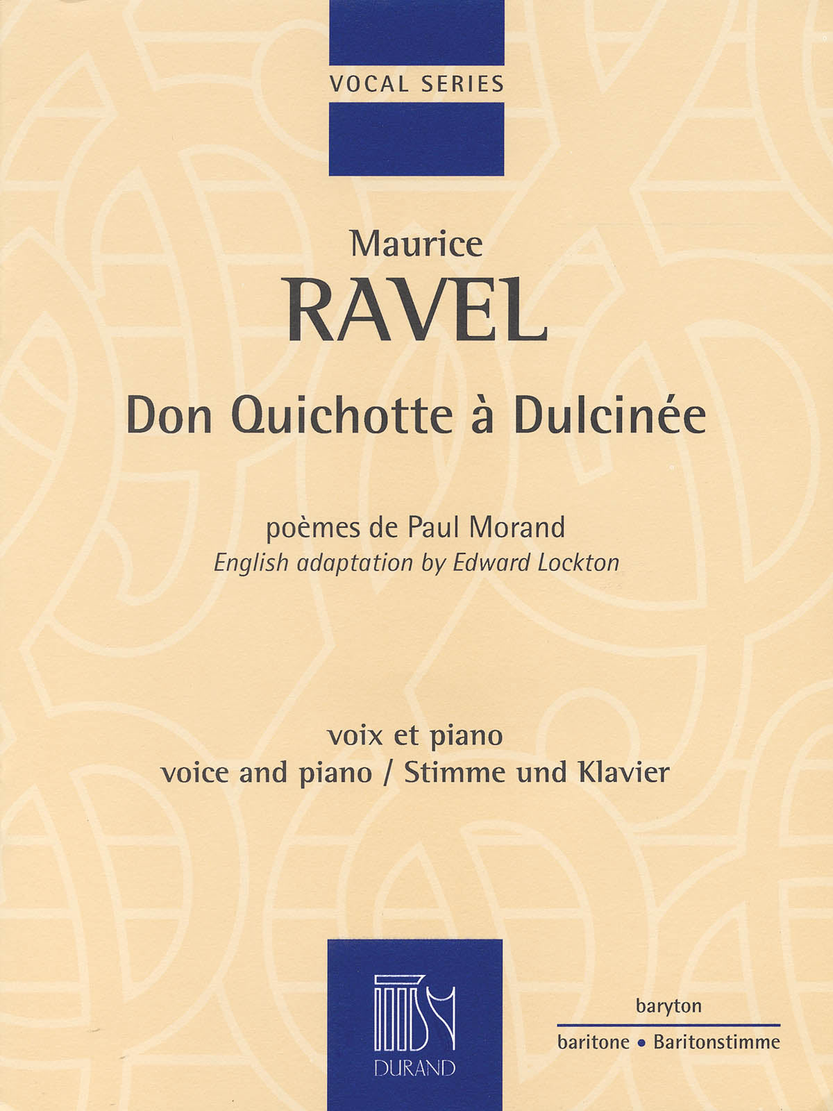 Ravel: Don Quichotte à Dulcinée