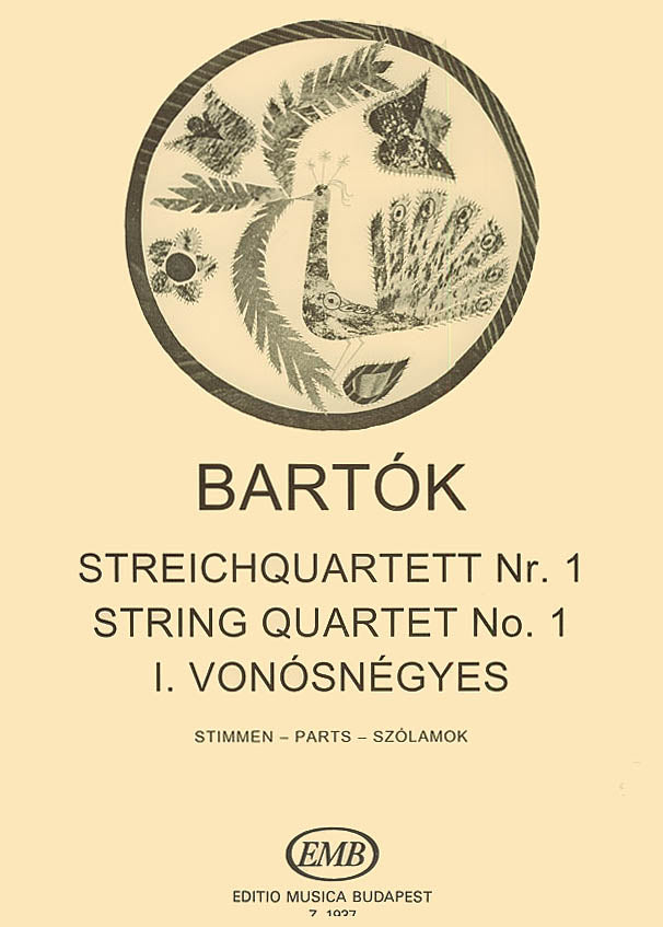 Bartók: String Quartet No. 1, Op. 7