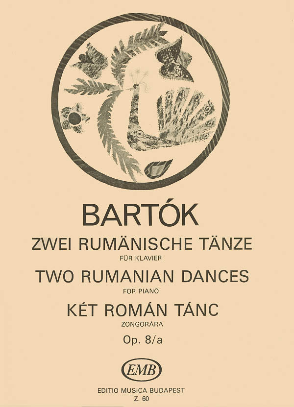Bartók: 2 Romanian Dances, Op. 8a