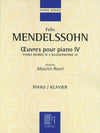 Mendelssohn: Piano Works - Volume 4
