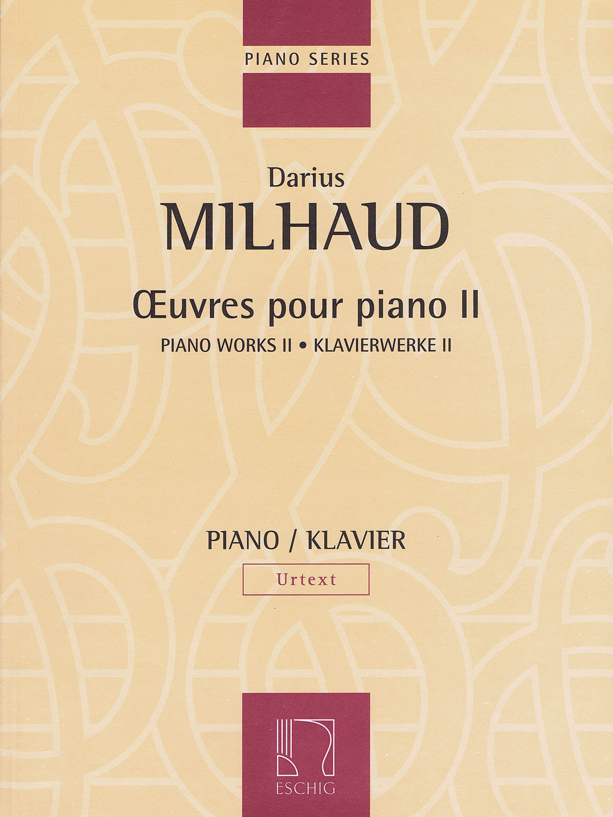 Milhaud: Piano Works, Volume II