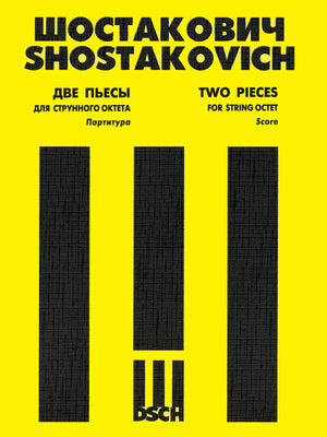 Shostakovich: Two Pieces for String Octet, Op. 11