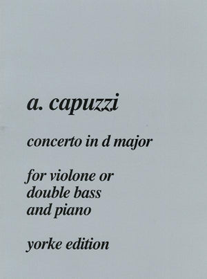 Capuzzi: Bass Concerto in D Major
