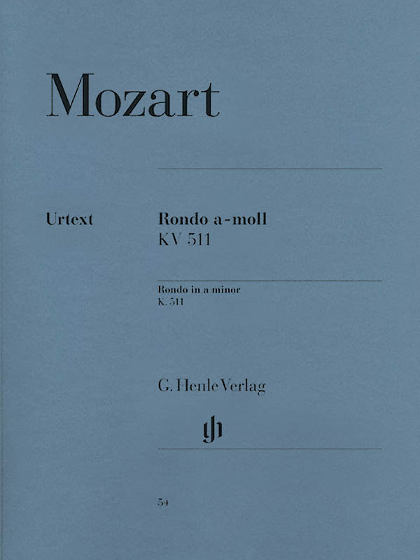 Mozart: Rondo in A Minor, K. 511