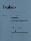 Brahms: Violin Sonata in G Major, Op. 78