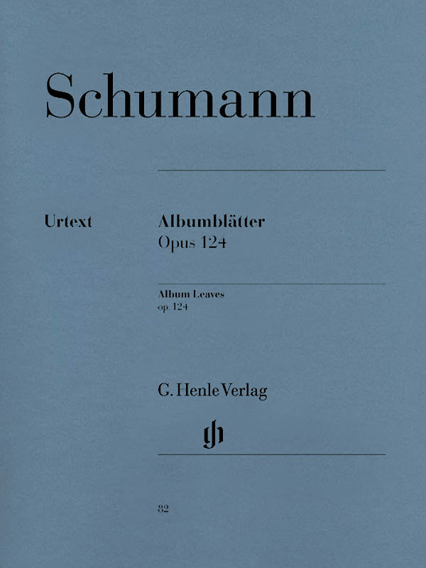 Schumann: Album Leaves, Op. 124