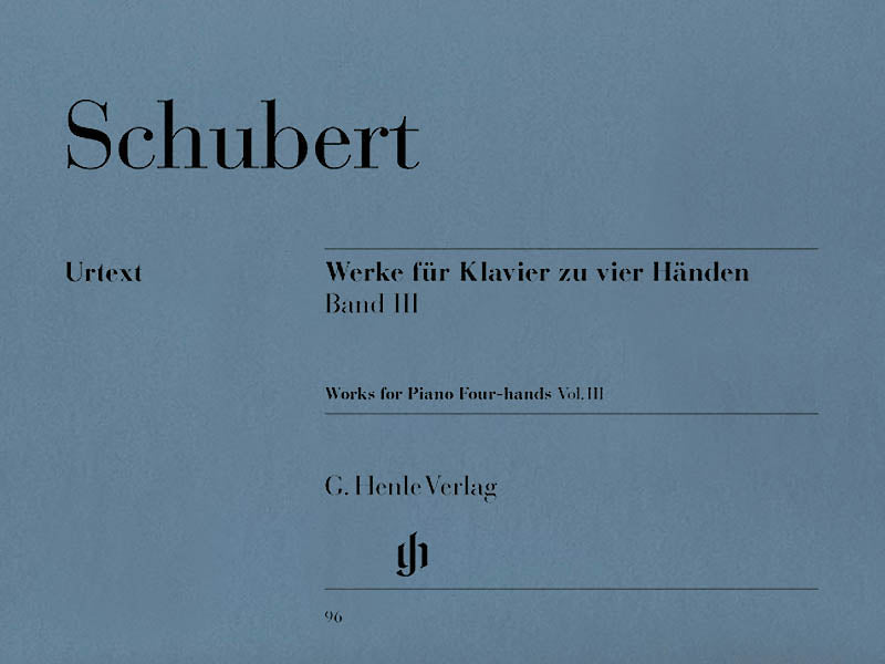 Schubert: Works for Piano Four-Hands - Volume 3