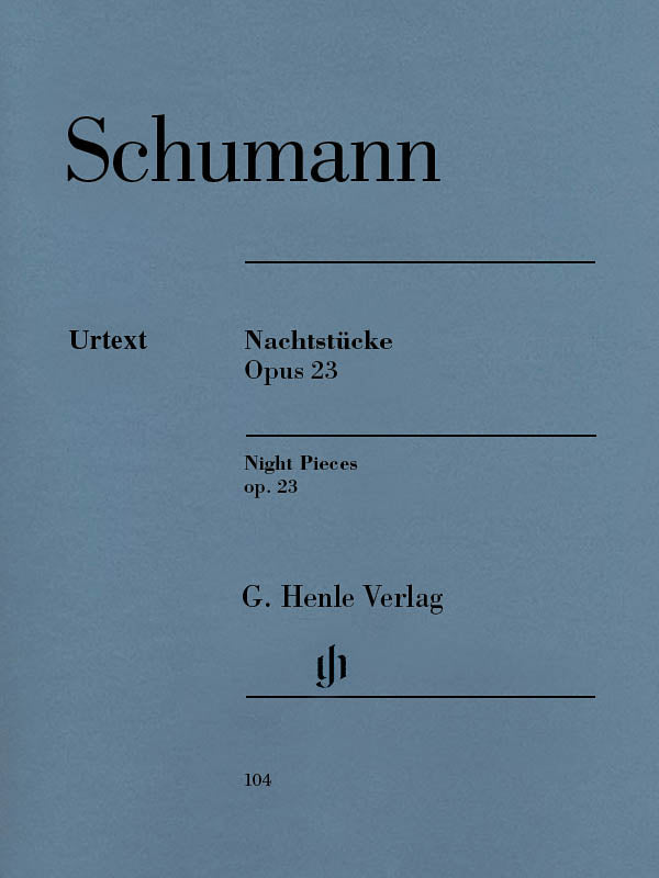 Schumann: Night Pieces, Op. 23