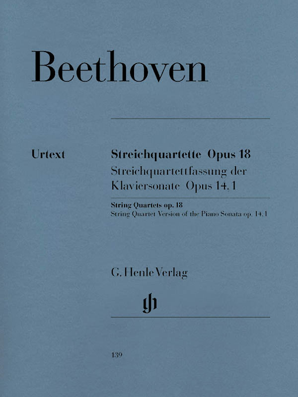 Beethoven: String Quartets, Op. 18
