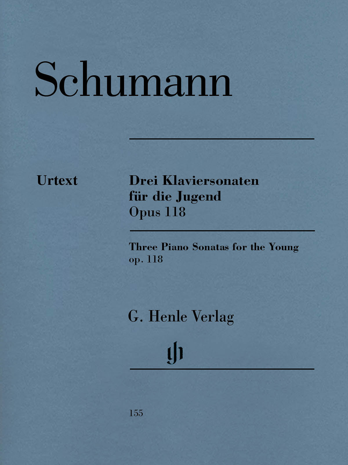 Schumann: 3 Piano Sonatas for the Young, Op. 118