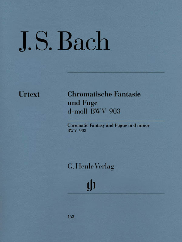 Bach: Chromatic Fantasy and Fugue in D Minor, BWV 903 and 903a