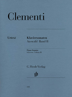 Clementi: Selected Piano Sonatas - Volume 2