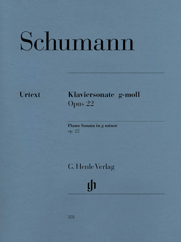 Schumann: Piano Sonata in G Minor, Op. 22