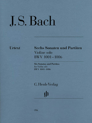 Bach: Six Sonatas and Partitas for Solo Violin, BWV 1001-1006