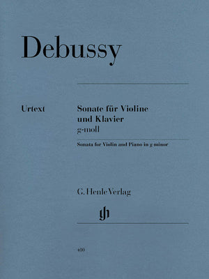 Debussy: Violin Sonata in G Minor