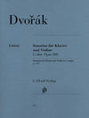 Dvořák: Sonatina in G Major, Op. 100