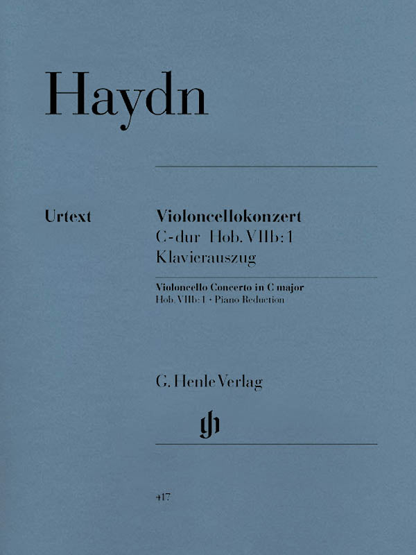 Haydn: Cello Concerto in C Major, Hob. VIIb:1