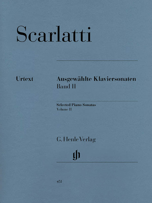 Scarlatti: Selected Piano Sonatas - Volume 2