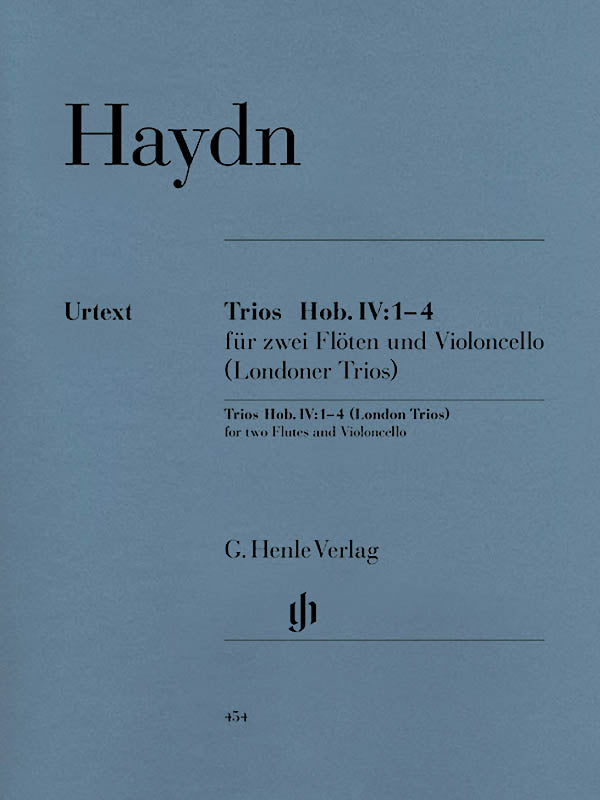 Haydn: London Trios, Hob. IV:1-4